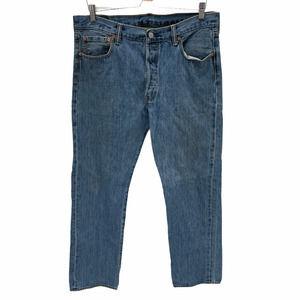 Levi's 501 Straight Original Fit Jeans Size 36x34